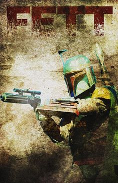 Boba Fett... Character from the Movie Star Wars