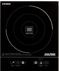 Placa de inducción portátil DOLPHIN DPL1F2000BETT 2000W, Pantalla LED