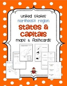 Northeastern US State Capitals To Label US States Notebook - Blank map of the northeast region of the us