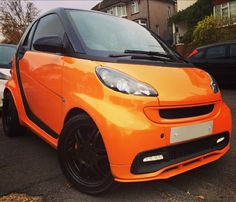 metallic orange smart ready to go!