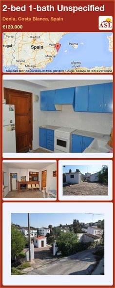Unspecified for Sale in Denia, Costa Blanca, Spain with 2 bedrooms, 1 bathroom - A Spanish Life Murcia, Seville, Malaga, Costa, Madrid, Spanish, Bath, Bedroom, Outdoor Decor