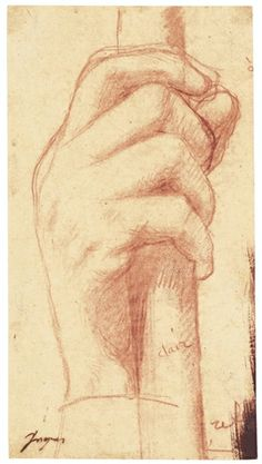 Jean-Auguste-Dominique Ingres - STUDY FOR THE... on MutualArt.com