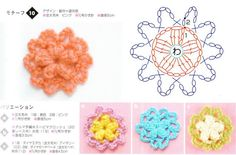 Flores ganchillo 2