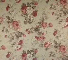 """Richloom Бетани цветочный бежевый розовый кремовый зеленый мебельной ткани на двор 54 """"W"""