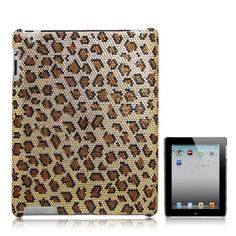 Elegant iPad cover with intricately crafted rhinestone embellishment to create a leopard skin design Made from highly durable plastic with rhinestones as embellishment With accurate cutouts for all ports, controls and buttons for optimum usability Ipad 3 Cases, Iphone Cases, Ipad 4, New Ipad, Gadgets Online, Translucent Glass, Glass Repair, Christmas Gift For You