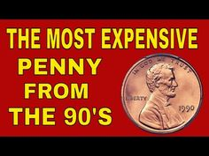 The most valuable penny from the Rare pennies worth money, coins to look for! Most Valuable Penny, Valuable Pennies, Rare Pennies, Valuable Coins, Most Expensive Penny, How To Clean Coins, Old Coins Value, Penny Values, Old Coins Worth Money