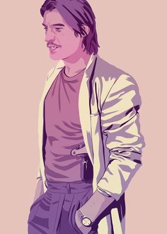 Jamie Lannister. Game Of Thrones 90's Style by Mike Wrobel
