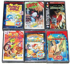 c64 games #bubblebobble #dizzy #camelot #warriors #djpuff #rainbowislands #rickdangerous #C64 #Commodore #64 #Retro #Gaming