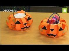 【ハロウィン】 カボチャのお菓子バッグの作り方【ビエボ】 | ハンドメイド - YouTube Halloween Arts And Crafts, Halloween Decorations For Kids, Halloween Themes, Fall Crafts, Halloween Diy, Happy Halloween, Preschool Crafts, Diy And Crafts, Crafts For Kids