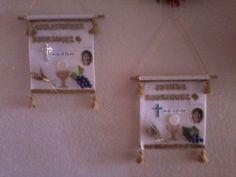 Chrissy & Joshy First Communion Banners