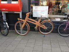 Wooden bike, Amsterdam-Oost