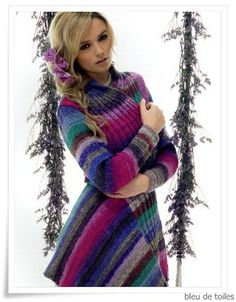 Knitted cardigan - Noro