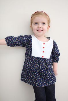 Libby top sew-along Part 1: pattern and pieces