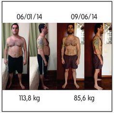 Saúde e Relacionamento: 29 kg EMAGRECIDOS de forma correta e em apenas 5 meses!