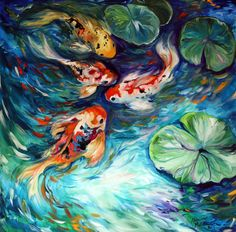 Shop for koi art from the world's greatest living artists. All koi artwork ships within 48 hours and includes a money-back guarantee. Choose your favorite koi designs and purchase them as wall art, home decor, phone cases, tote bags, and more! Artist Canvas, Canvas Art, Canvas Prints, Framed Prints, Bird Canvas, Koi Kunst, Koi Painting, Underwater Painting, Painting Art