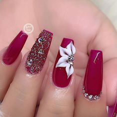 60 + long trendy fall nails style which is popular in ins 2019 - ibaz Xmas Nails, 3d Nails, Christmas Nails, Shellac Nails, Best Acrylic Nails, Acrylic Nail Designs, Nail Art Designs, Nails Design, Latest Nail Designs