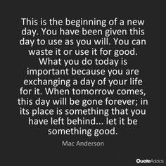 let it be something good