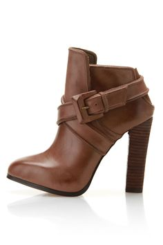 Buckle Booties / Max Studio
