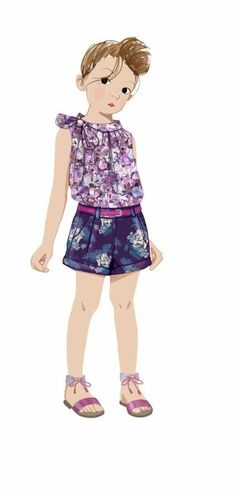 Style Sight - Children's fashion forecast for sping/summer 2014.