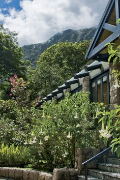 Machu Picchu Sanctuary Lodge, Peru is the FHRNews #AmexFHR #luxury #hoteloftheday for Monday, April 23.