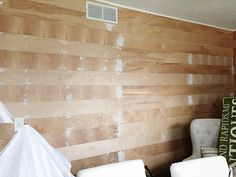 The Cheapest & Easiest Way To Shiplap – Office Update