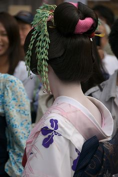 Furisode-san at the Sanja Matsuri