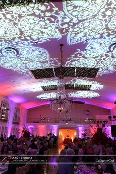 Wedding Uplighting at Lafayette Club