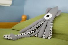 DIY Squid Stuffed Animal