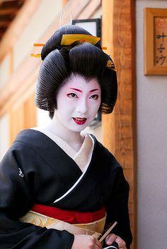 kimika maiko geiko | ... 君香 Today was Kimika's erikae, the day that she became a geiko