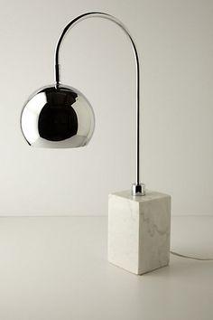marble carrera eyeball lamp #anthrofave