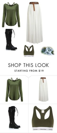 """""""First appearance"""" by acbagot on Polyvore featuring Calvin Klein Underwear"""