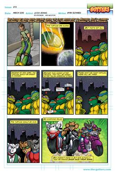 "The truth about the ""Aliens"" TMNT"