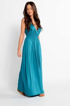 Ladies Grecian Style Maxi Dress Full Length Summer Toga Sizes 8 10 12