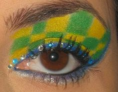 Maquiagem para a Copa