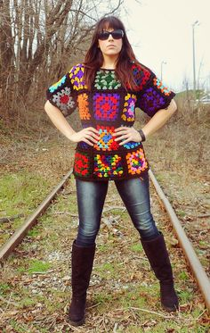 Hey, I found this really awesome Etsy listing at https://www.etsy.com/listing/273671998/the-ultimate-ugly-granny-square-sweater