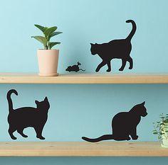 Cute Cat Wall Stickers