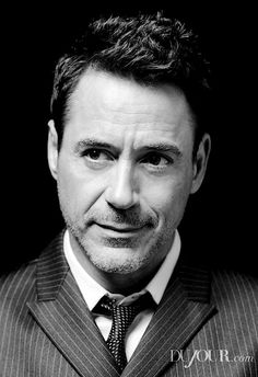 - portrait by Jeff Vespa for DuJour, at the Toronto International Film Festival, Sept. Playboy, Robert Downey Jnr, I Robert, Marvel Actors, Marvel Characters, Actrices Hollywood, Downey Junior, Tony Stark, Best Actor