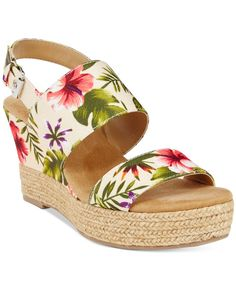 White Mountain Bar Harbor Espadrille Wedge Sandals
