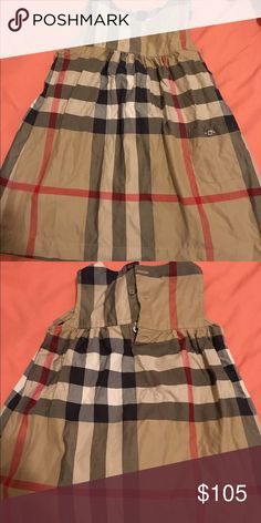 Burberry toddler dress Authentic Burberry little girls dress Burberry Dresses