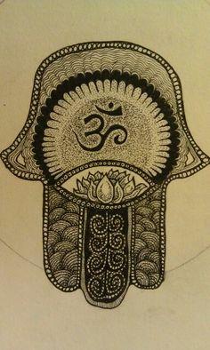 Fatimas hand (Khamsa)