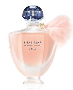 Guerlain Shalimar Parfum Initial L'Eau Si Sensuelle by Guerlain is a powdery, aromatic, white Floral Green fragrance with bergamot, neroli, grapefruit and green notes in the top. Jasmine, rose and iris in the middle. Tonka and vanilla in the base. - Fragrantica