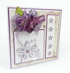 Brand New Kaleidoscope Collection from Tattered Lace Dies www.tatteredlace.co.uk