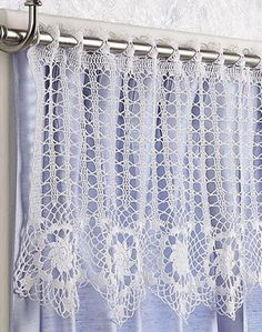 Crochet For Children: Star Flowers Valance - Free Pattern
