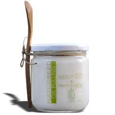 Hemos creado un oil pulling con nuestro aceite de coco virgen extra orgánico al que le hemos añadido menta silvestre.  Disfruta de todas las propiedades del aceite de coco con un aliento fresco de menta.