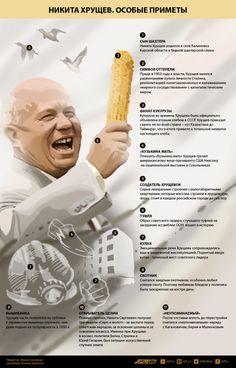 Никита Хрущев. Особые приметы | Инфографика | АиФ Черноземье