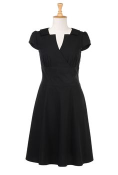 ESHAKTI.com, Cool website that lets you pick your height and desired sleeve type for clothes/dresses. You can also customize with your measurements (what!) and choose neckline as well! Nice!