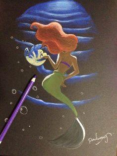 The dancing mermaid by AmadeuxWay.deviantart.com on @deviantART