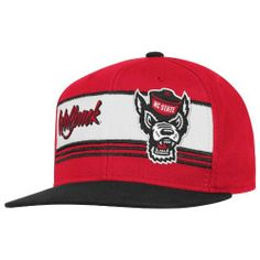 NCAA Men's NC State Wolfpack Snapback Hat,  ( Red/Black , OSFA) adidas. $12.97. Save 35% Off!