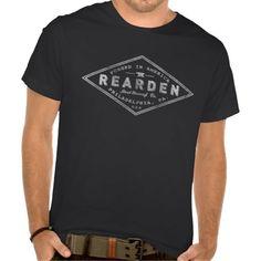 fd1ecdaa9f1d Atlas Shrugged Rearden Steel logo retro crew Neck T-shirt. Funny Tshirts