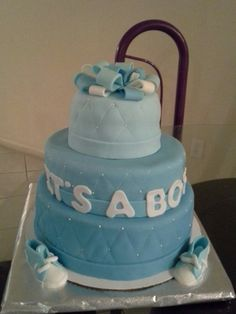 cake baby shower boy